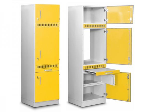 Medizinschrankelement für Medikamente (mit optional integriertem Kühlschrank)