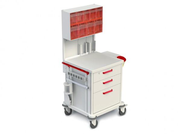 Funktioneller medizinischer Rollwagen TM-2
