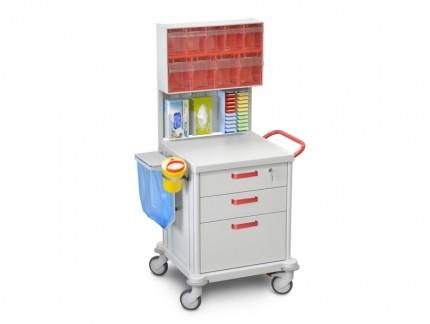 Funktioneller medizinischer Rollwagen TM-1