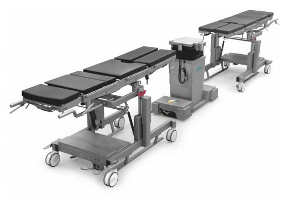 Operationstisch für die Allgemeinchirurgie mit austauschbaren Lagerflächen OM-Sigma-04, OM-Sigma-05