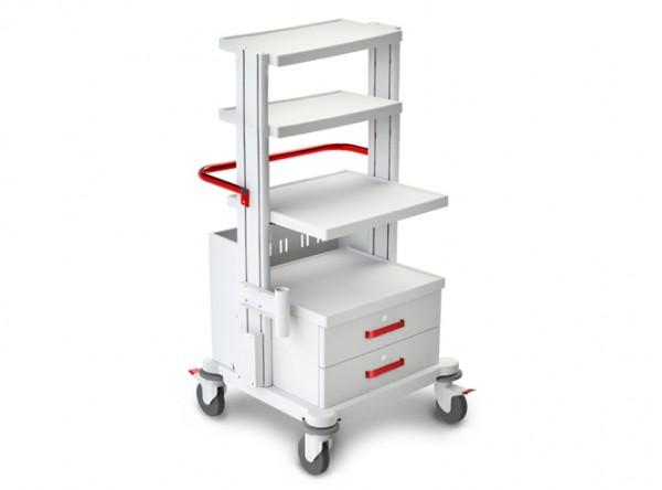 Funktioneller medizinischer Rollwagen TM-9