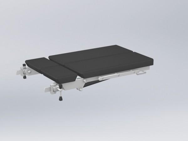 Set КPP-25 für die getrennte Positionierung der Beine mit Dreh- und Kippmöglichkeiten