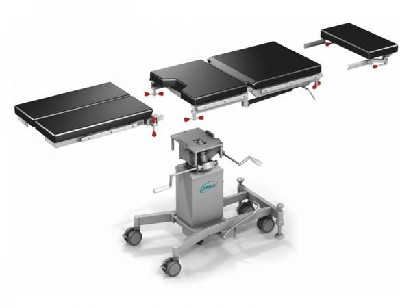 Tragbarer, zusammenklappbarer Operationstisch für die Allgemeinchirurgie ОК-Omega