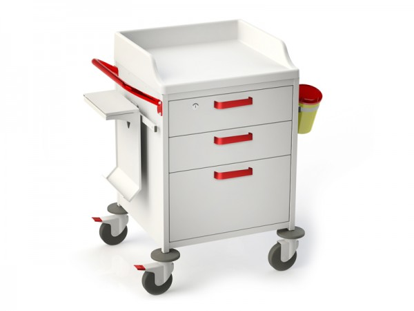 Funktioneller medizinischer Rollwagen TM-4