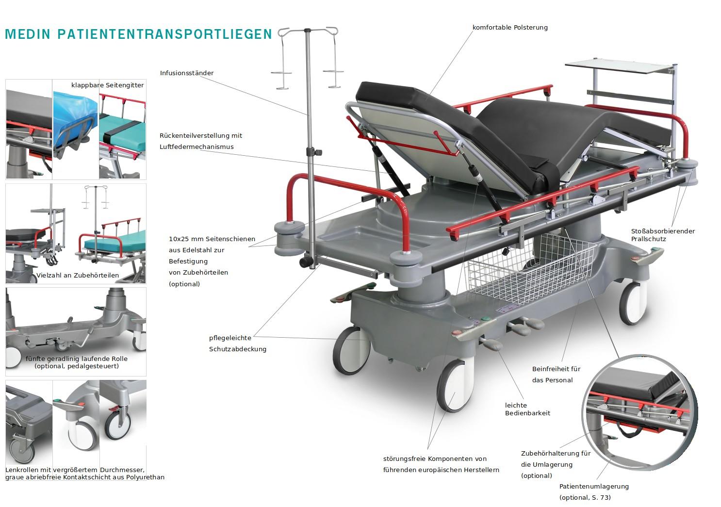 Medin Patiententransporter