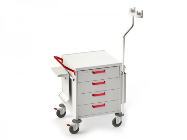 Funktioneller medizinischer Rollwagen TM-11