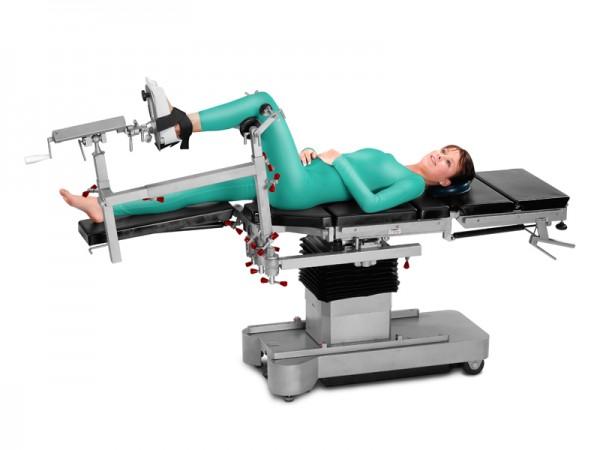 Set КPP-04 für orthopädische / traumatologische Operationen am Unterschenkel bzw. Knie