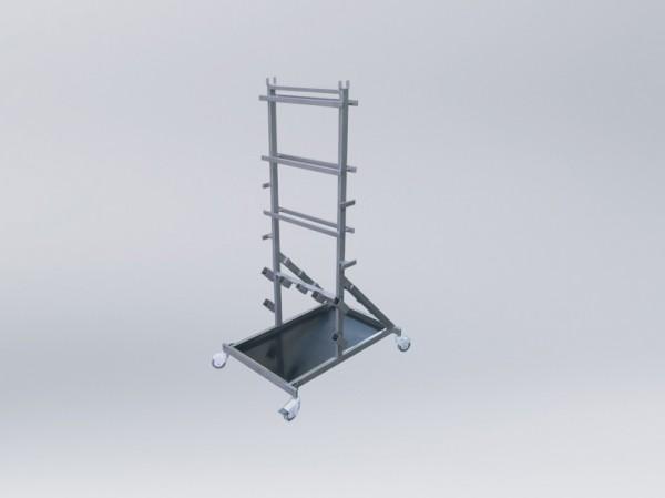 Set КPP-32 Mobiler Ständer für die Aufbewahrung von Zubehörteilen